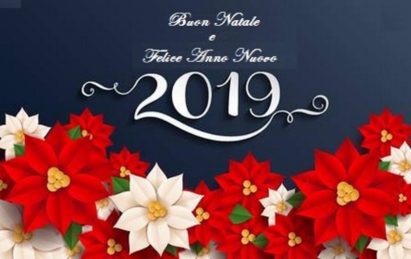 Auguri A Tutti Buon Natale E Felice Anno Nuovo 2019