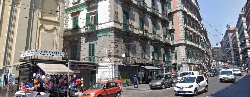 piazza dante - via pessina napoli